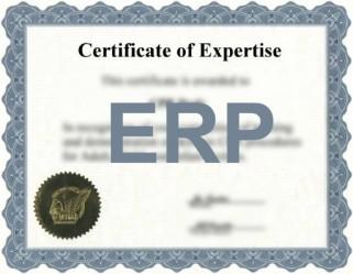 Doelgroepcertificaat voor ERP-consultants