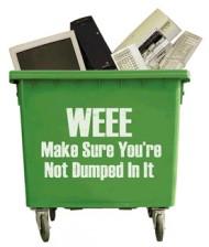 E-WEEE: afgedankte krultang kan retour naar webshop