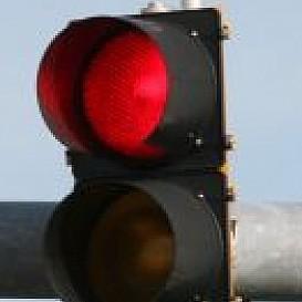 Automatische boete voor 'door rood rijden