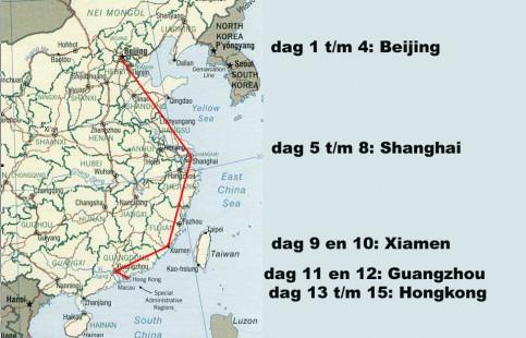 Aankomst Hong Kong