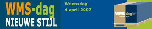 Programma WMS-dag 2007