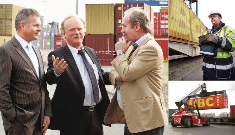 Container Terminal Stein groeit hard