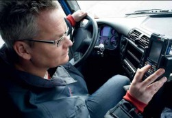 Mobiele boordcomputer helpt Meeus met fleet