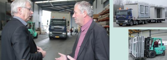 Bouwbedrijf Kooi lost logistieke knelpunten op