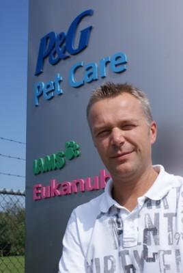 Arthur Bos, Site Logistics Manager Procter & Gamble Coevorden