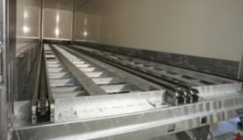 Werkend model kettingbaan bij bij Ancra