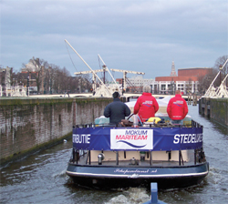 Mokum Mariteam Amsterdam: duurzaam door de grachten