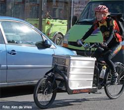 Centrumservice Zwolle: bevlogen fietskoeriers