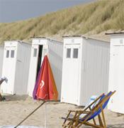 Logistiek op het strand