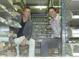 Nederlandse Scriptieprijs Logistiek 2012: Reinier van Rijnberk en Richard van Marion