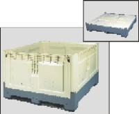 Palletbox met vaste zijwanden