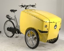 Bakfiets voor intern transport