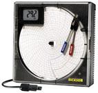 Tachograaf voor temperatuur en luchtvochtigheid