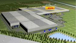 DHL huurt mega food center