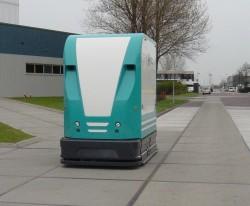 Automatisch transport tussen productie en opslag
