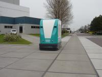 MSD rijdt met outdoor AGV