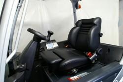 Heftruckstoel met verstelbare zitdiepte