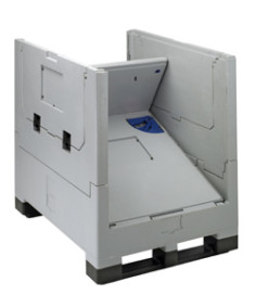 Schoeller Arca Systems toont inklapbare half-pallet