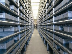 Knapp showt order storage & retrieval