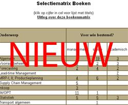 Logistiek.nl lanceert logistieke boekenmatrix