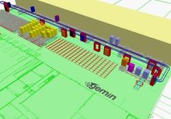 Geautomatiseerd hoogbouwmagazijn voor koel- en vrieshuis