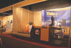 Elektrische palletwagen voor zwaar materiaal
