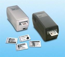 Plastic cards printen zonder inkt