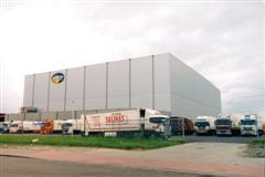 Vrieshuis van Partner Logistics slaat windenergie op