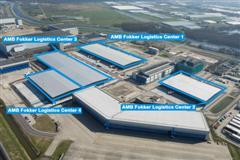Twee logistieke centra op Fokker Logistics Park