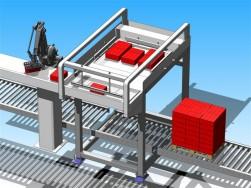 CSi combineert robot met lagenpalletiser
