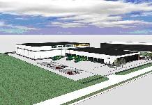 Henk van de Scheur bouwt logistiek centrum op Ecofactorij
