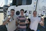 Chauffeursstrijd op Truckstarfestival