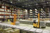'China wordt ook 's werelds grootste in warehousing