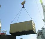 Mensen onwel door container uit China