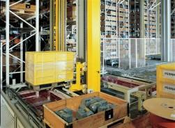 Stelling bedieningsapparaat voor zware pallets