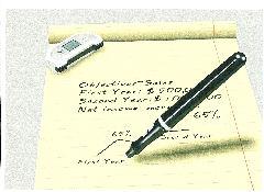 Digitale balpen voor papier en pc