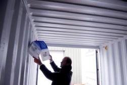 Achmea bestrijdt vocht in zeecontainers