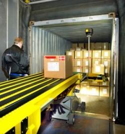Empticon maakt lossen containers gemakkelijker