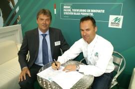 MIDAC en R&W tekenen contract