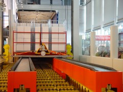 Express Loader laadt vrachtwagen binnen drie minuten