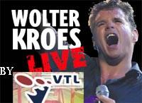 Wolter Kroes zingt tijdens VTL Open Dag