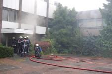 Grote brand treft magazijn Blokker