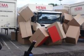 Hema 'pullt' nieuw hoogbouwmagazijn open