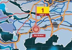 Logistieke hotspots: West-Brabant verdringt Venlo