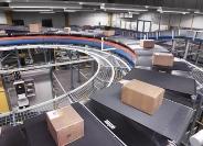 Flexibel sorteren met elektrische crossbeltsorter