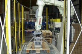RFA toont robot palletisers op Empack 2009