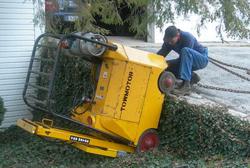 Arbeidsinspectie pakt 'gevaarlijke' heftrucks aan
