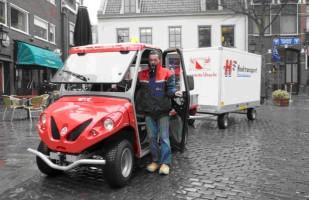 Utrecht start elektrische stadsdistributie