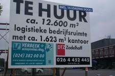 Forse daling in vraag logistiek vastgoed