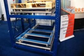 Compact opslagsysteem voor pallets